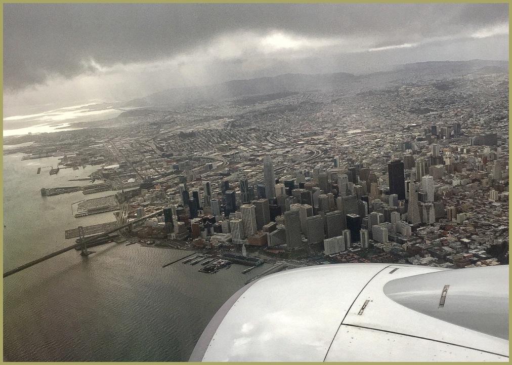 Hello San Francisco!!!...Oakland, Here we Come!