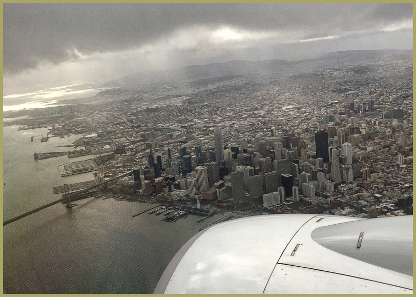 Hello San Francisco!!!...Oakland, Here we Come!