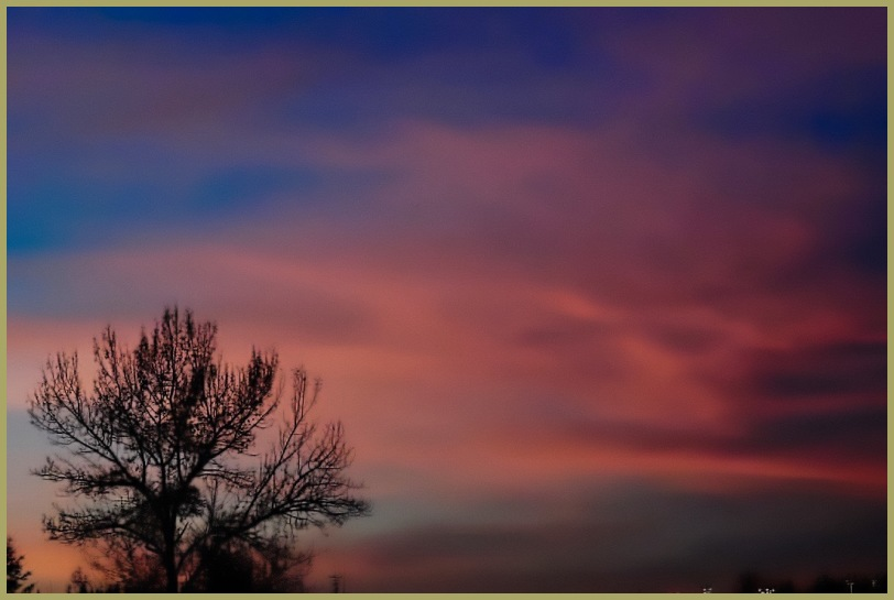 """""""Morning Sky"""".... & a Note from Denny"""