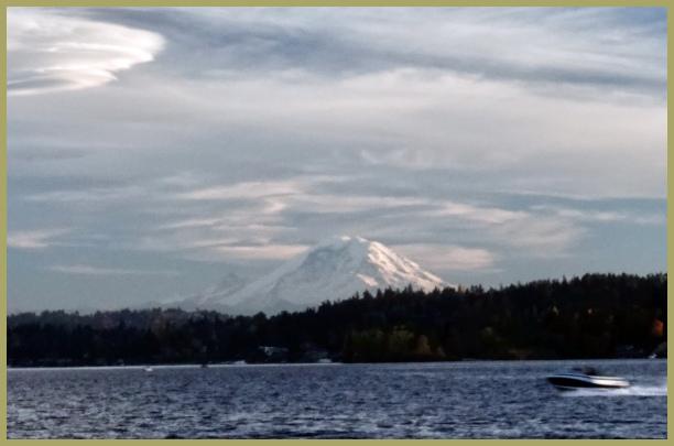 Express to the Mount Rainier