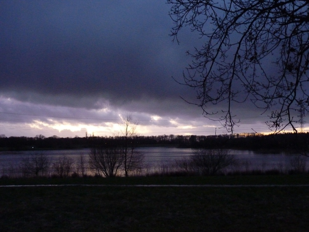 Sunset 12 januari 2012