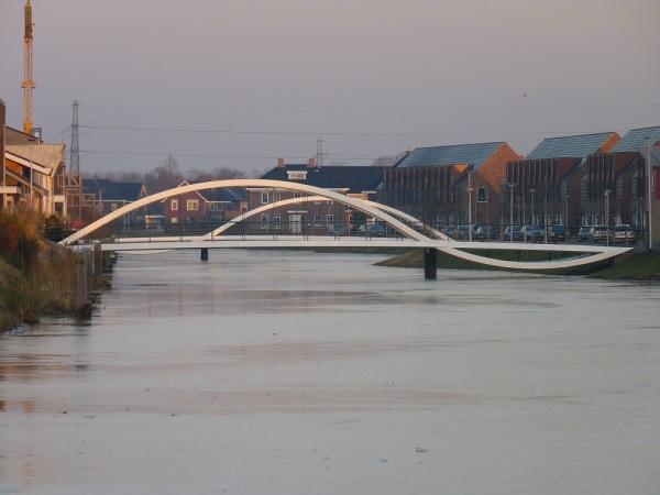 Modern Bridge in Assen