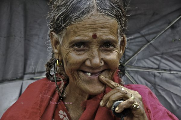 Old Woman, India