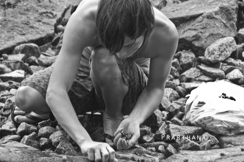 Collecting Shells, Singapore