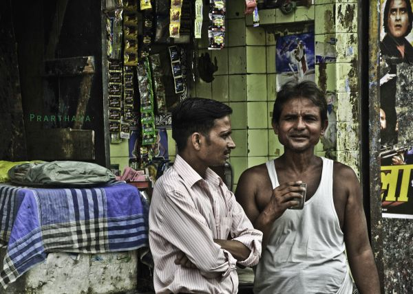 Chai Time, Lucknow, India
