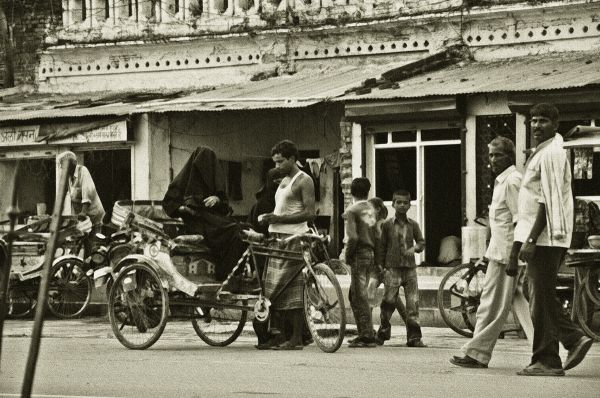 A ride in the past, Lucknow, 2010