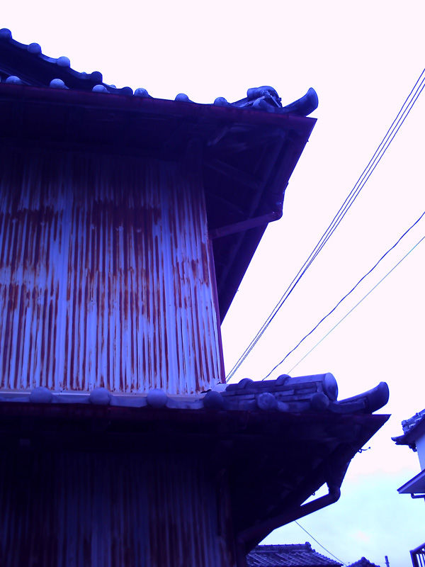 a rusted house in kochi japan