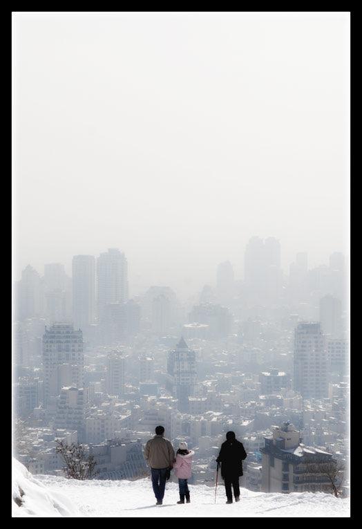 شاید کودکم اینجا در امان باشد ... هوا آلوده است