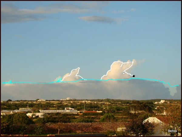 Pintando nubes // Painting clouds