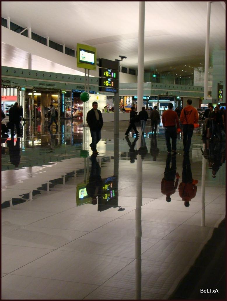 Reflejo aeroportuario // Airport reflection