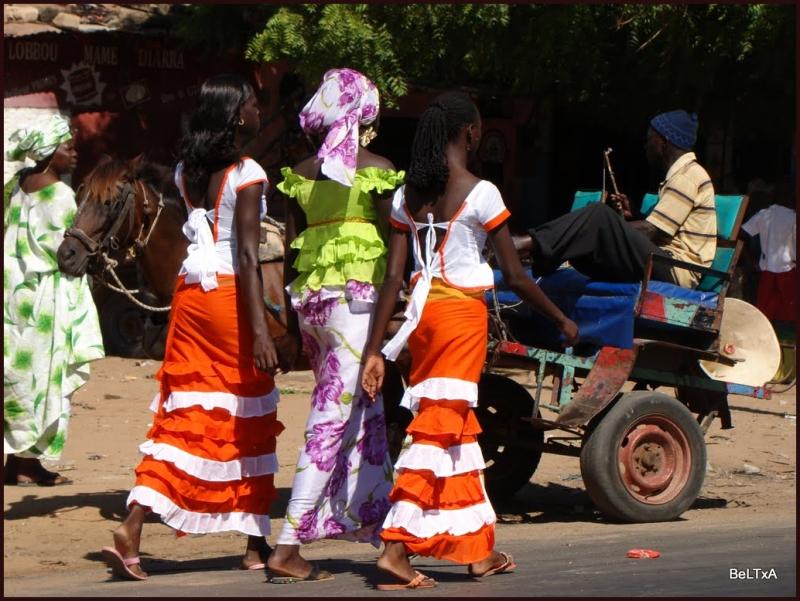 Las mujeres senegalesas son impresionantes!!!