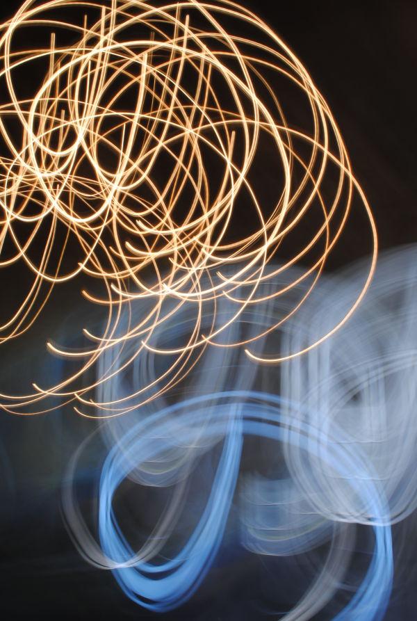 Twirling light