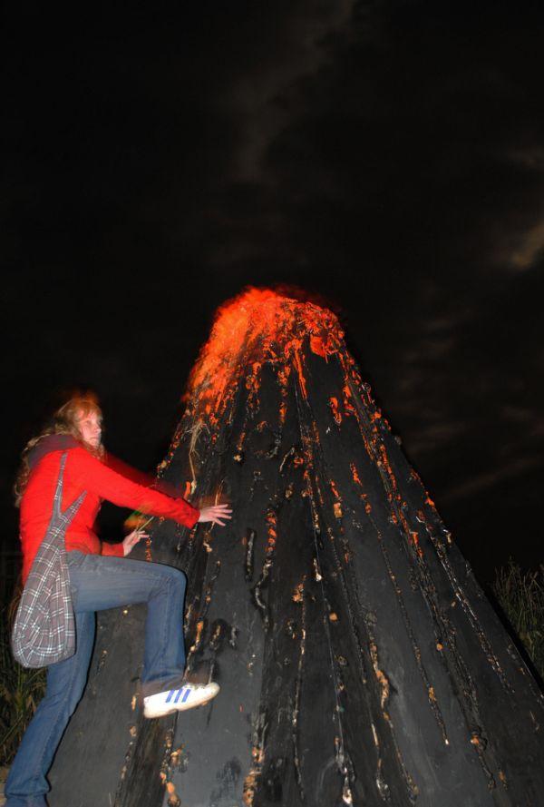 Climbing Mt Doom