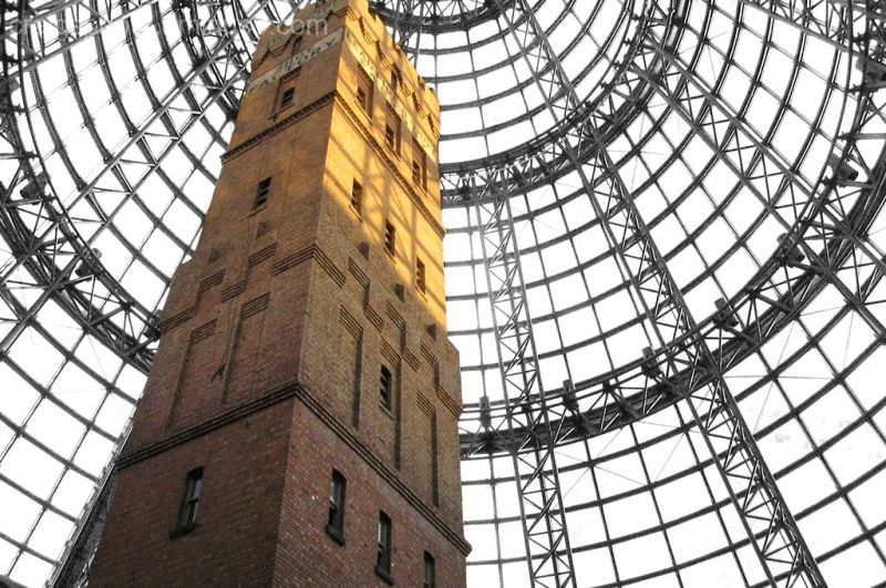 The Shot Tower of Melbourne