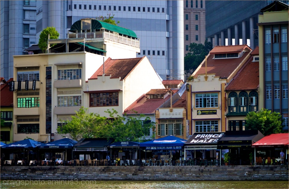 Singapore river area by CRaig White