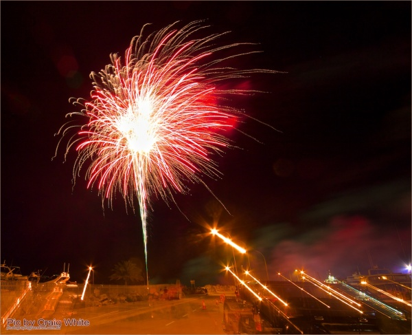 Fireworks at Fremantle by Craig White AUS