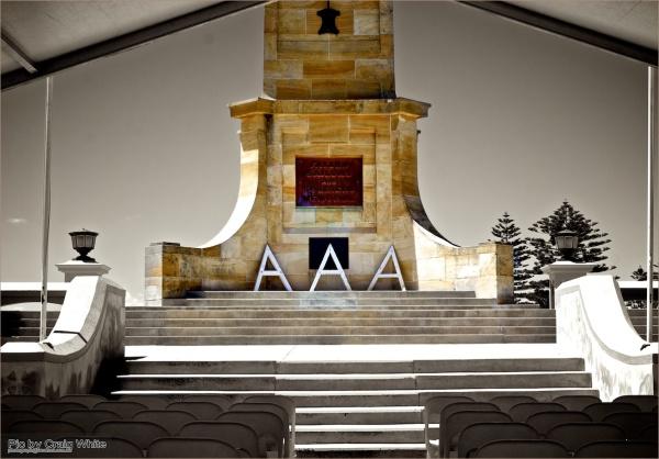 Fremantle War Memorial by Craig White AUS