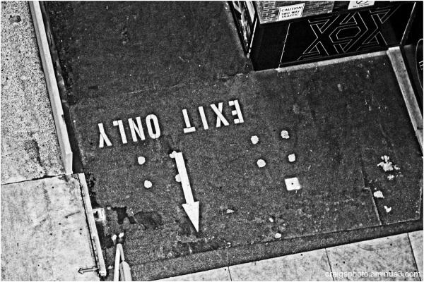 Exit here by Craig White (AUS)