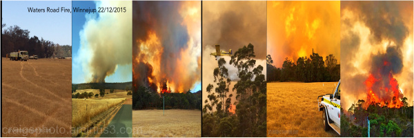 Bushfire @ Winnejup W.Australia by Craig White AUS