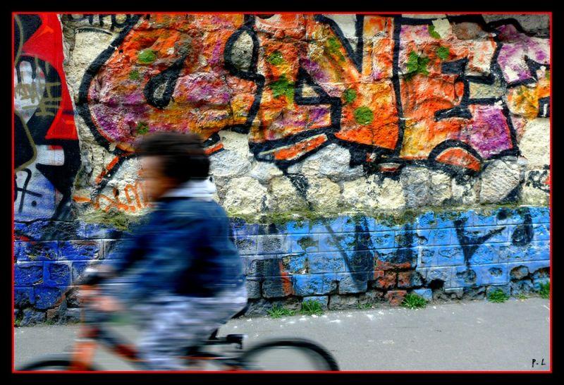 mur peint - Paris Xème