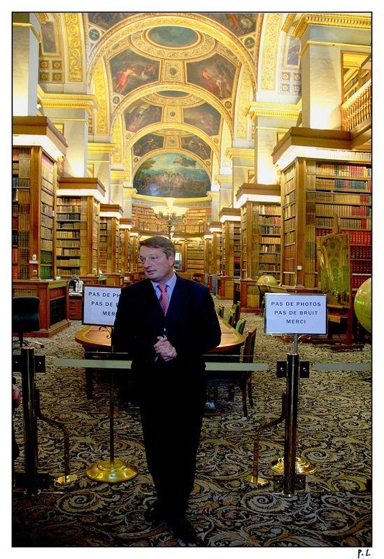 Bibliothèque du palais Bourbon