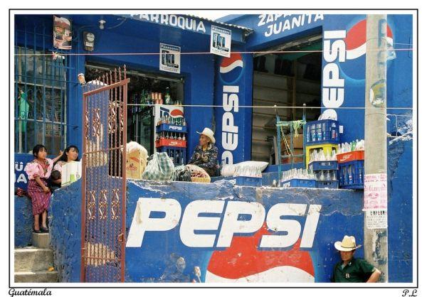 Au Guatémala Pepsi est partout...