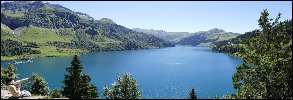 Cormet de Roselend Savoie Barrage de Roselend