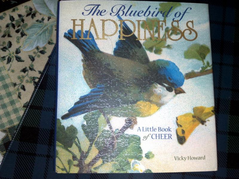 Seeking the blue bird of happiness ?
