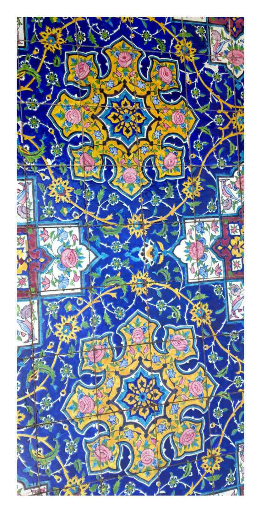 Persian creamic art