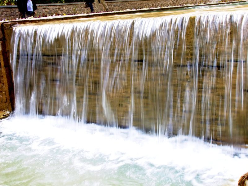 Shazdeh Garden Waterfall