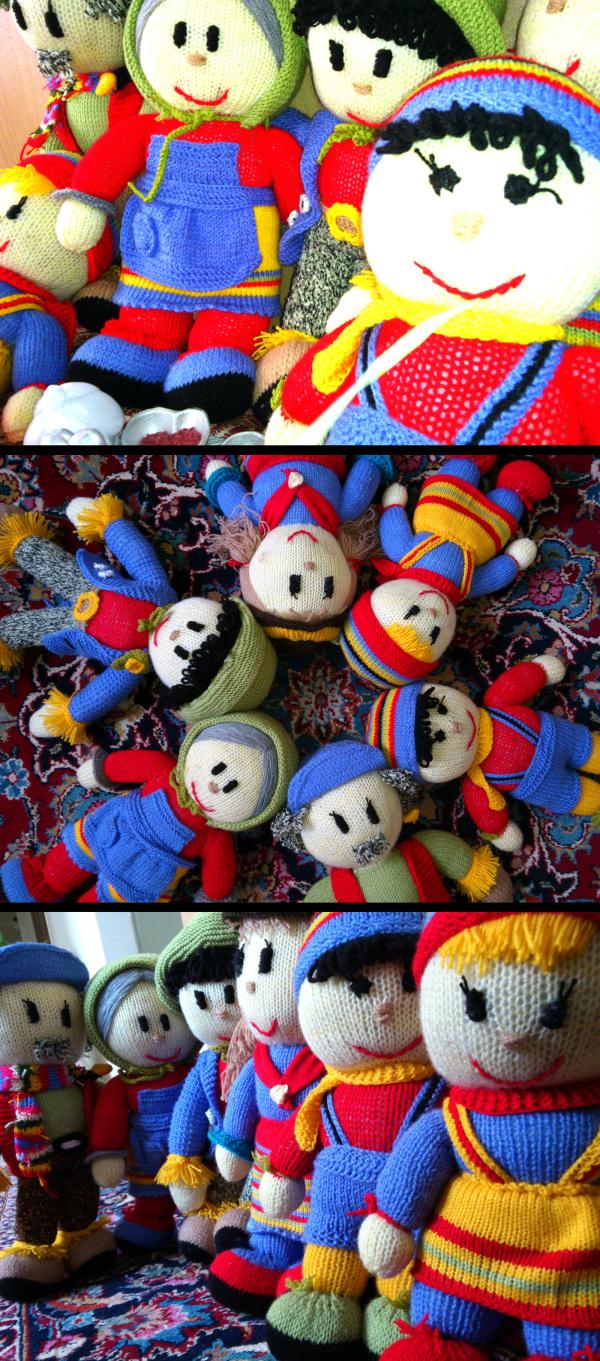Happy Woven  Dolls