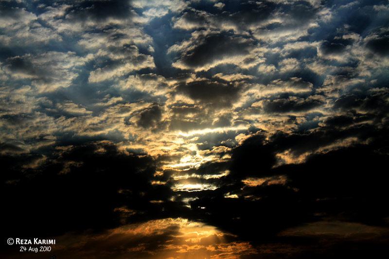 Unrepeatable sunrise