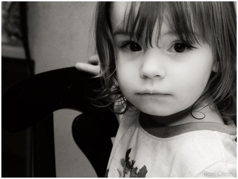 Lilli in Black and White