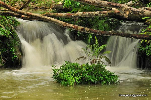 Salto de agua, Ancón