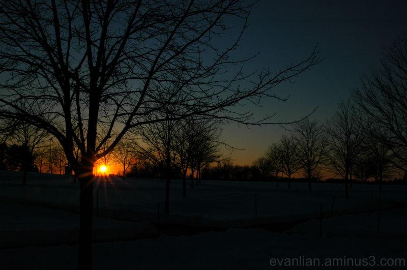 Allendale Sunset