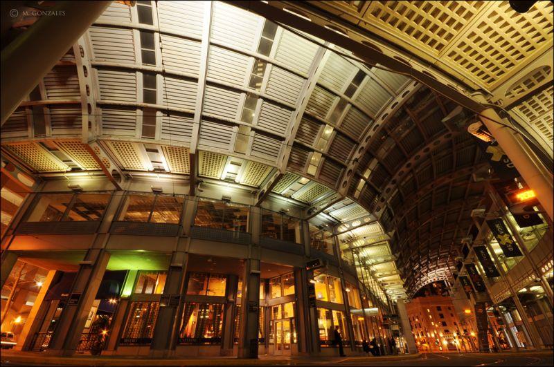 America Plaza Trolley Station, Downtown San Diego