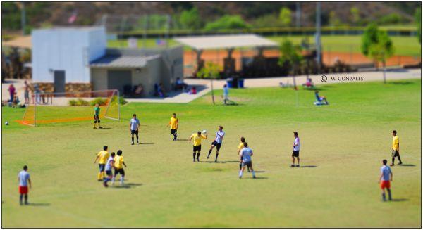 Faux Tilt Shift Joimo Soccer/Futbol