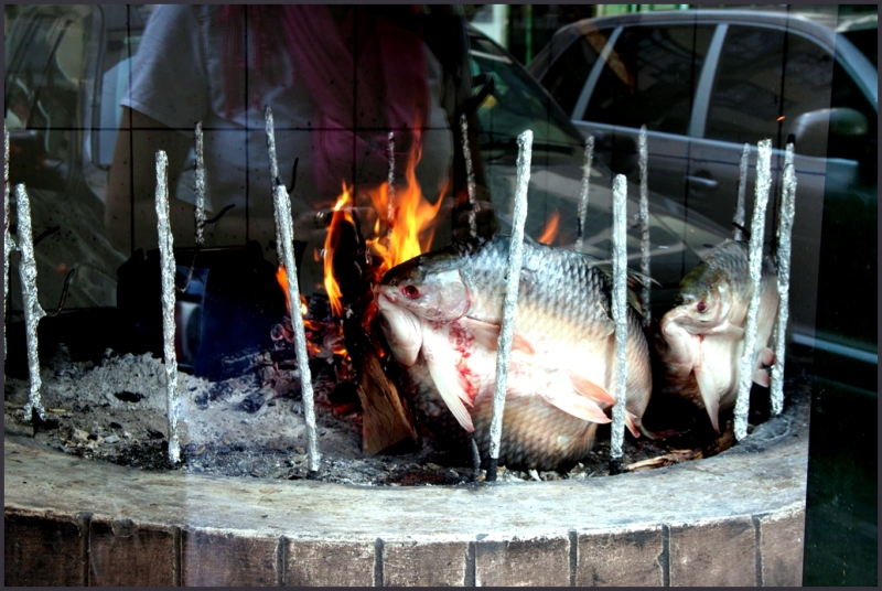 fish in the oven