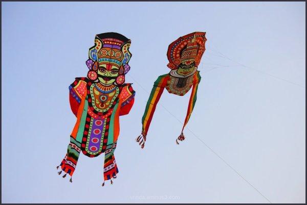 high as a kite!