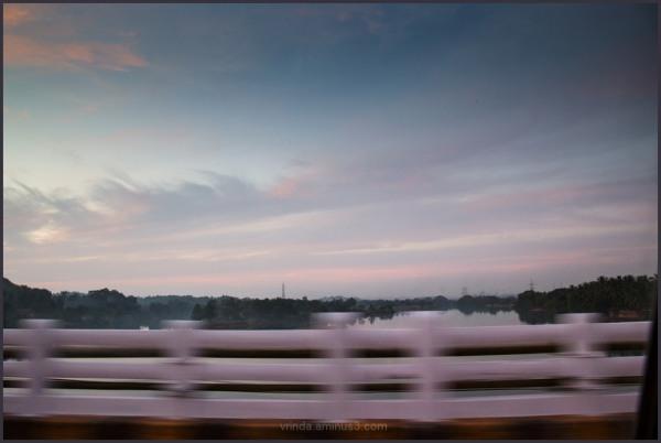 moving blue hour