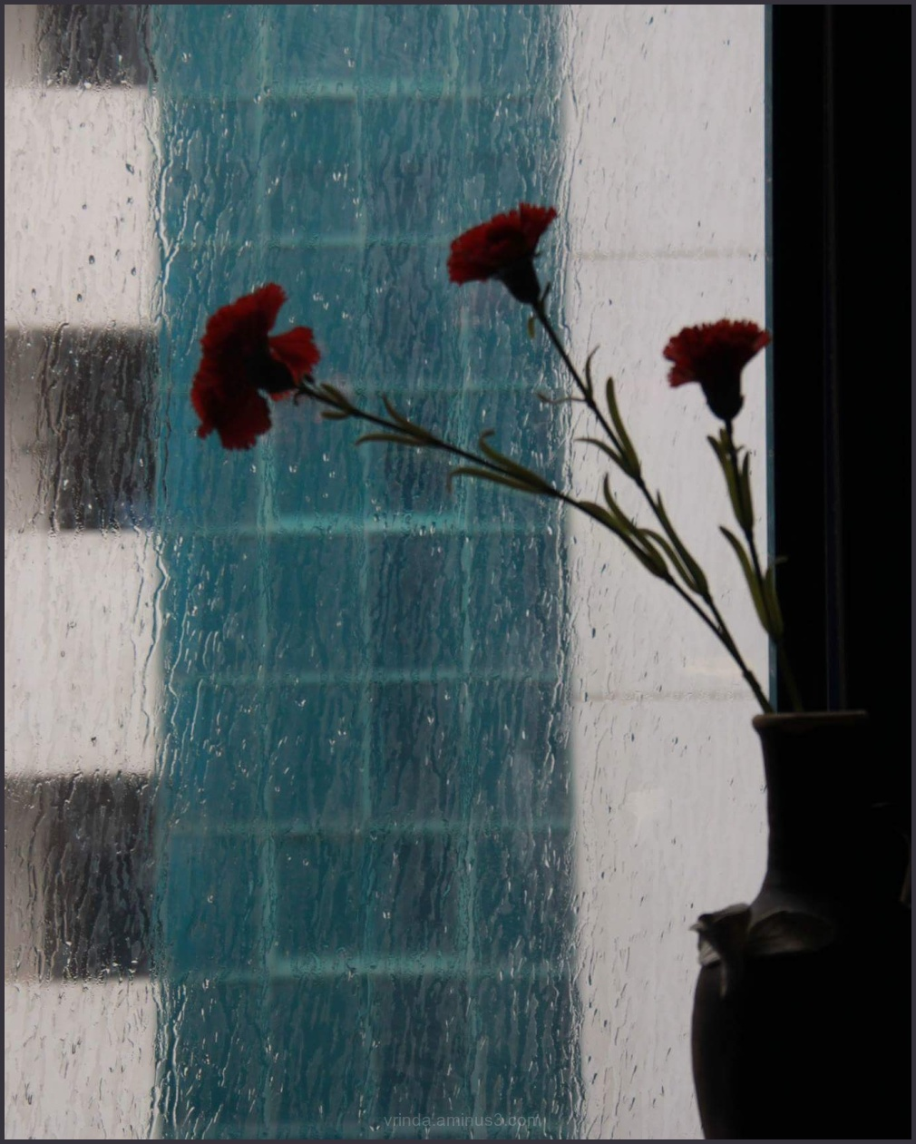 Rain on my window pane