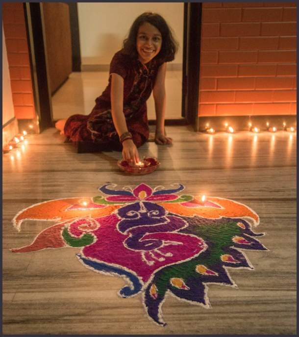 Happy Deepavali_Festival of lights and rangoli