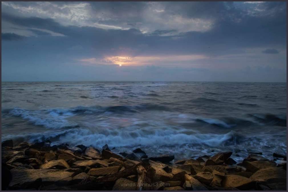 A cool sunset