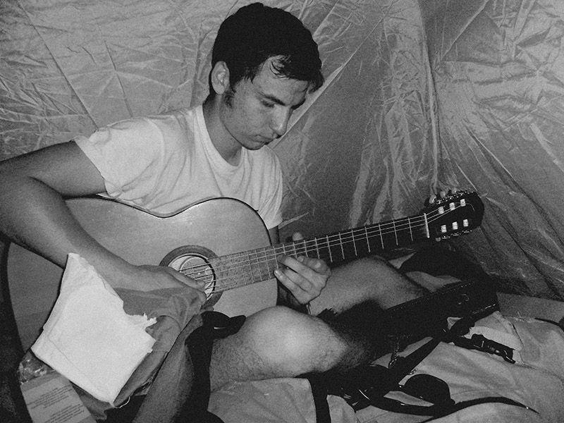 hitchhiking punks punk europe tent