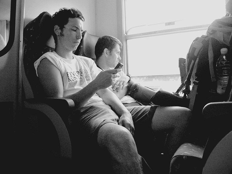 hitchhiking punks punk europe train
