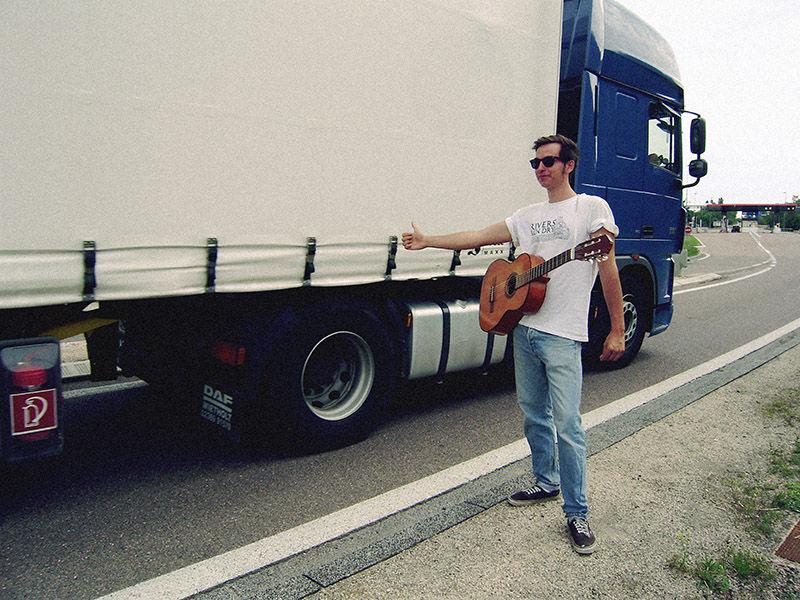 hitchhiking punks punk europe france
