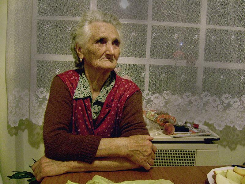 people grandma portrait