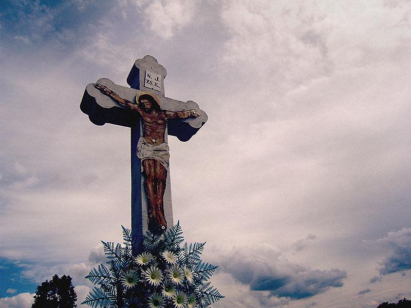 christian cross cemetery