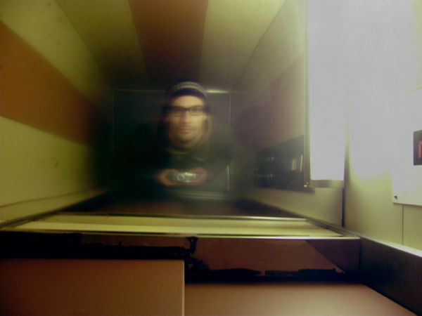self portrait elevator