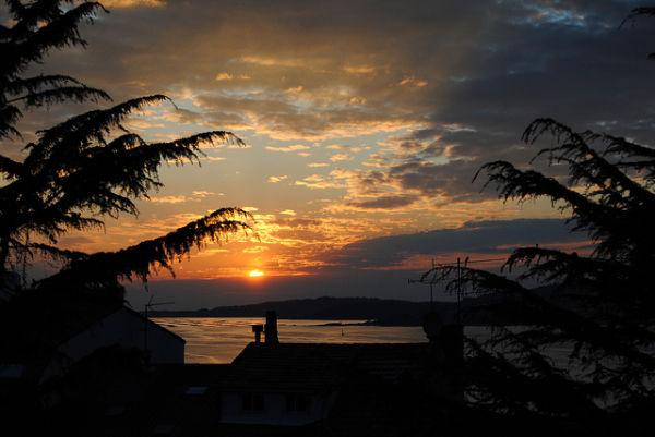 Sunset at Vigo Bay